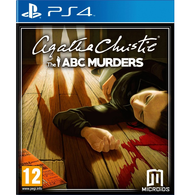 Игра за конзола Agatha Christie: The ABC Murders, за PS4 image