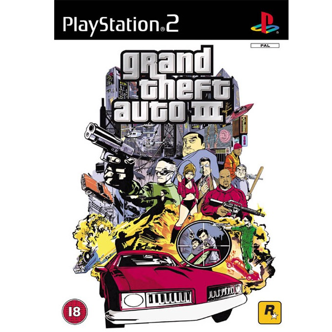Grand Theft Auto 3, за PlayStation 2 product