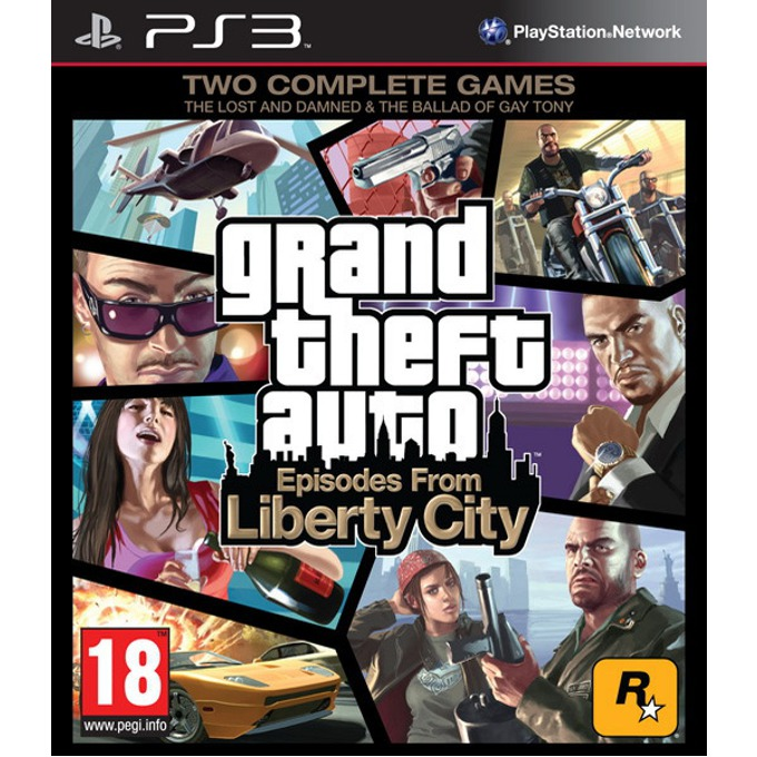 Grand Theft Auto: Episodes from Liberty City product