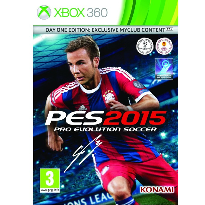 Игра за конзола Pro Evolution Soccer 2015 - Day One Edition, за Xbox 360 image