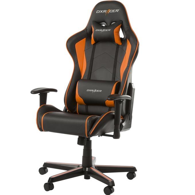 Геймърски стол DXRacer Formula, черен/oранжев image