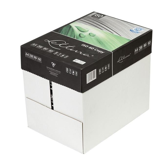 Lettura 60, рециклирана, A4, 80 g/m2, 500 листа, 5 product