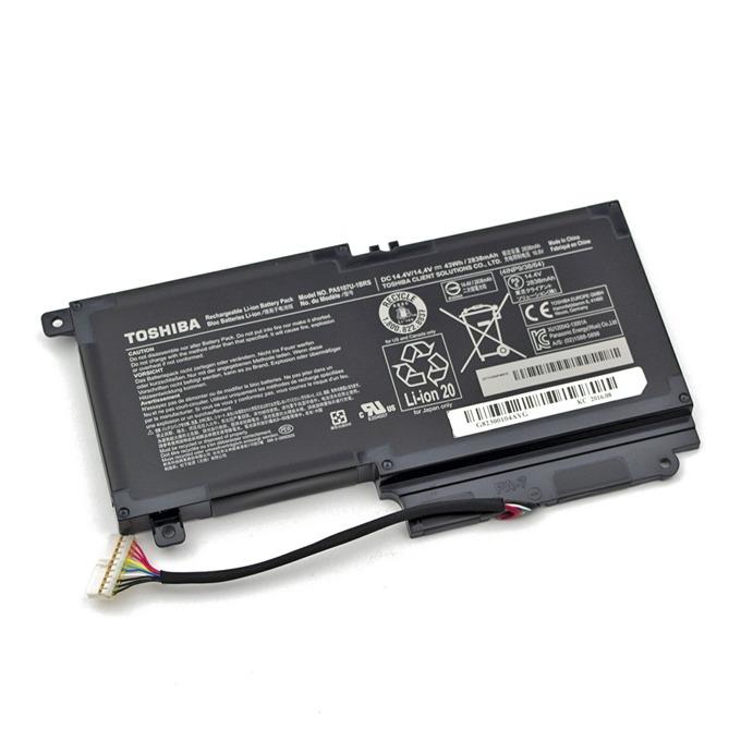 Батерия (оригинална) за лаптоп Toshiba, съвместима с Satellite L40-A/L50-A/P50-A/P50t/L55/L55t/S40-AS40t/S50-A/S55t image