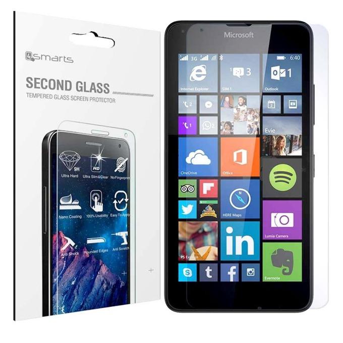 Протектор от закалено стъкло /Tempered Glass/ 4smarts Second Glass за Nokia Lumia 640, прозрачен image