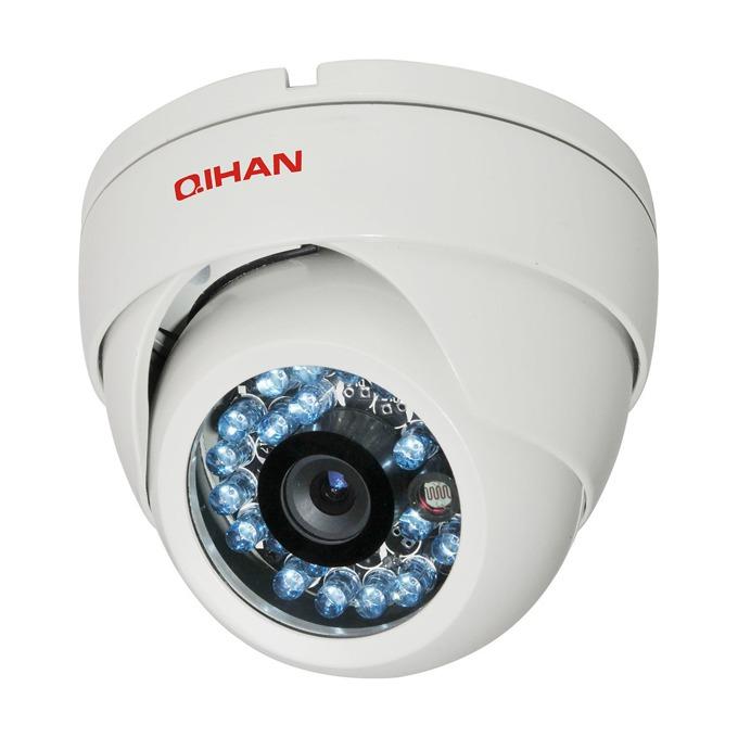 """Qihan QH-126C-5, камера, куполна, 1/3"""" HDIS, 850L, 3.6mm, ИЧ-25м image"""