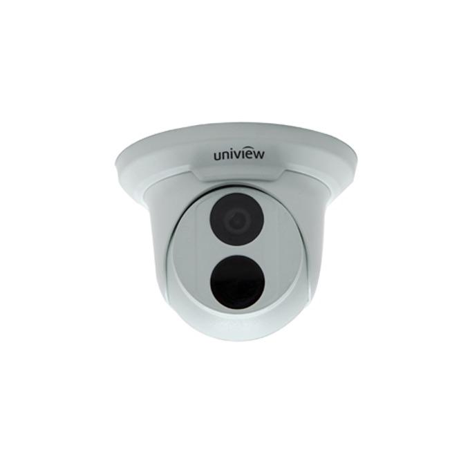 IP камера UniView IPC3612SR3-PF60, куполна, 2 Mpix(1920×1080@30FPS), 6mm обектив, H.264/MJPEG, IR осветеност (до 30м), външна IP66 защита, PoE, RJ-45 (10/100Base-T) image