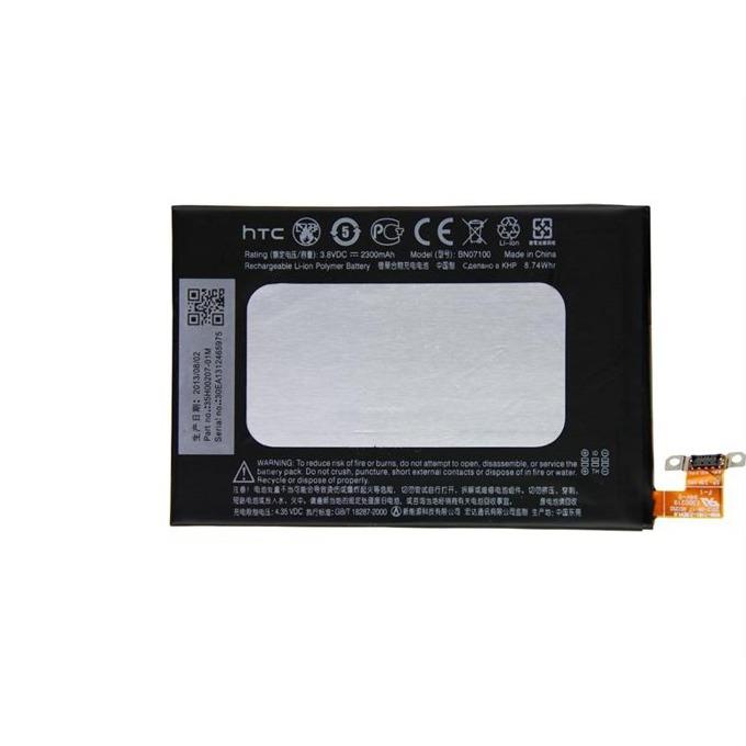 Батерия (оригинална) за HTC BN07100, HTC One M7, 2300 mAh, 3.7V image
