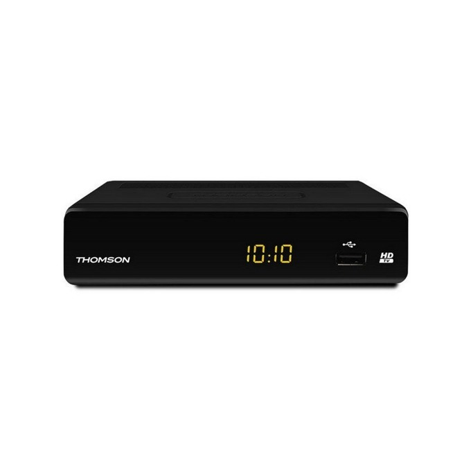 TV Тунер Thomson THT504+ HD, ANT IN, ANT OUT, TV SCART, HDMI, S/PDIF (коаксиален), AUDIO L/R, USB порт, Dolby® Digital Plus, дисплей, 1080p резолюция image