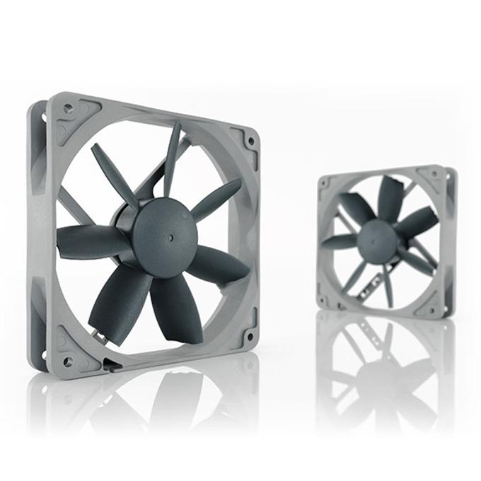 Вентилатор 120mm, Noctua NF-S12B-redux-1200, 3-пинов, 1200 rpm image