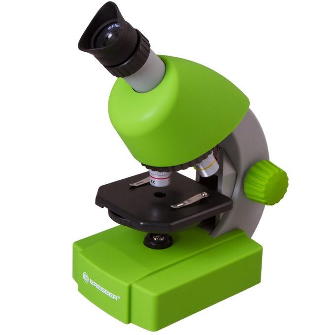 Микроскоп Bresser Junior 70124, 40–640x оптично увеличение, зелен image