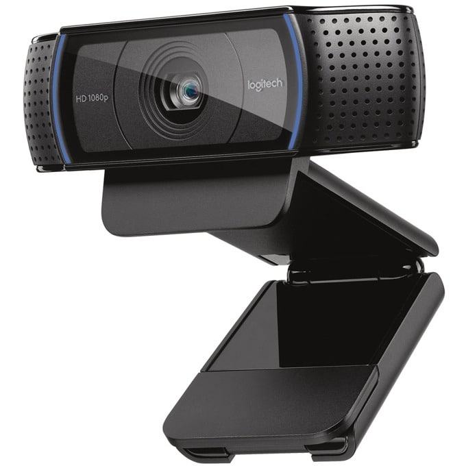 Logitech HD Pro Webcam C920, 1080p FULL HD, стерео микрофони, USB image