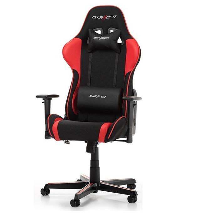 Геймърски стол DXRacer Formula OH/FH11/NR, черен/червен image