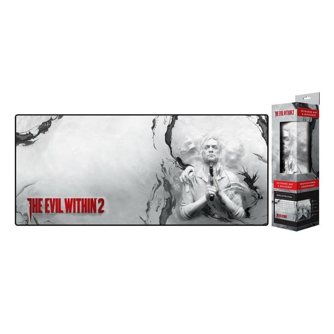"Подложка за мишка Gaya The Evil Within ""Enter The Realm"", гейминг, многоцветен, 800 x 350 x 3 mm image"