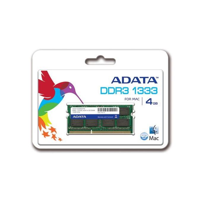 Памет 4GB DDR3 1333MHz SODIMM, A-Data Premier Series image