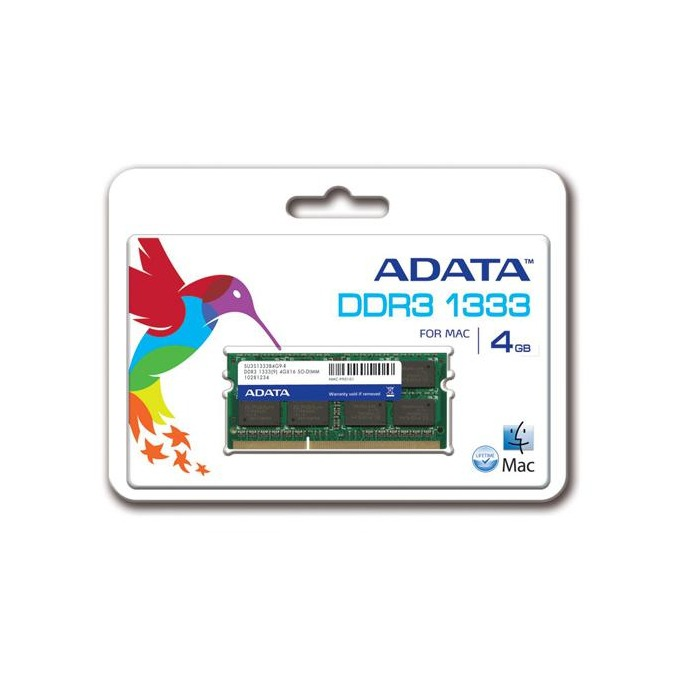 Памет 4GB DDR3 1333MHz SODIMM, A-Data Premier Series image