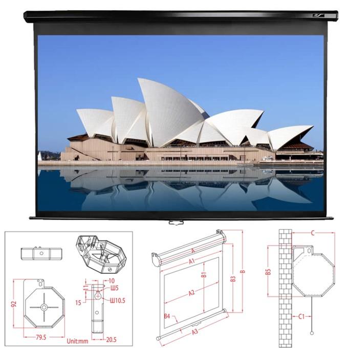 Екран Elite Screens 243.84 x 243.84 cm
