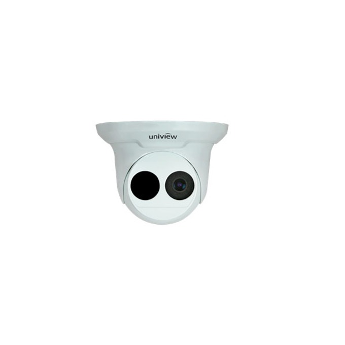 IP камера UNIVIEW IPC3611ER3-F36, мрежова камера, 1.3MP, IR, вандалоустойчива, фиксирана, куполна, ИЧ - 30 м image