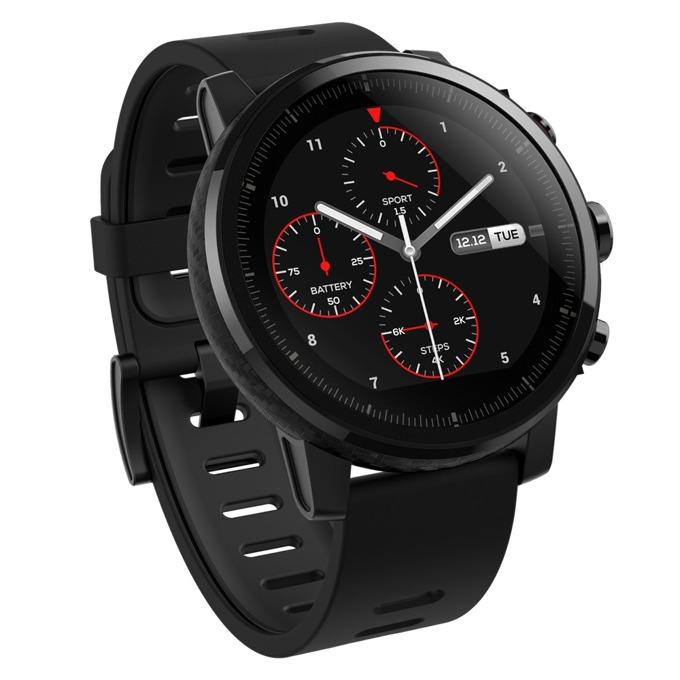 """Смарт часовник Xiaomi Amazfit Stratos, 1.34"""" дисплей, Bluetooth 4.0, GPS, IP67, 280mAh, черен image"""