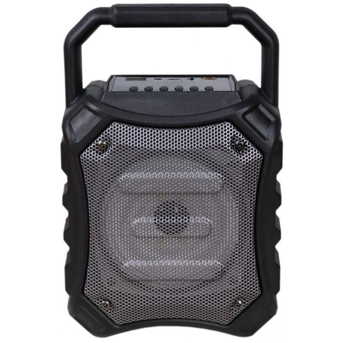 Тонколона Omega OG81 Disco, 1.0, 5W RMS, Bluetooth, AUX, USB, FM радио, MicroSD слот, черна, 6.3mm жак за микрофон image