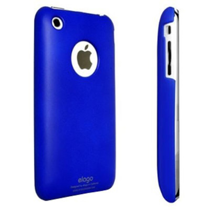 Заден капак Elago SF Case за iPhone 3G/3GS, синя image