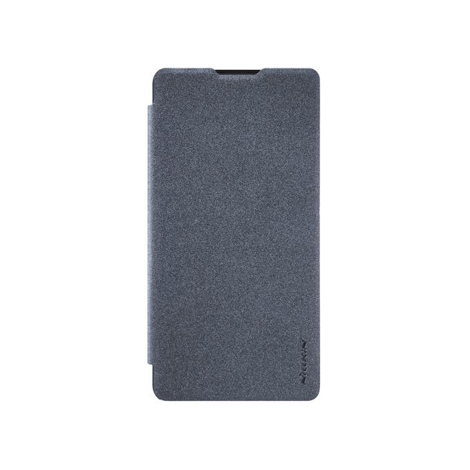 Калъф за Xiaomi Mi Mix 2, отваряем, кожен, Nillkin Mi Mix 2 Smart cover, черен image