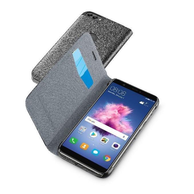 Кожен Book калъф за Huawei P Smart, Cellular Line, сив image