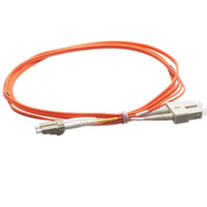 FibreFab LC/PC(м) към SC/PC(м) 5m FM-L-LC/SCD5-5F