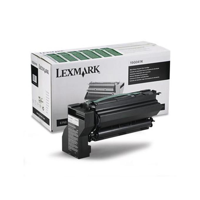 КАСЕТА ЗА LEXMARK C 752 - Black - Return program cartridge - P№ 15G041 K - заб.: 6000k image
