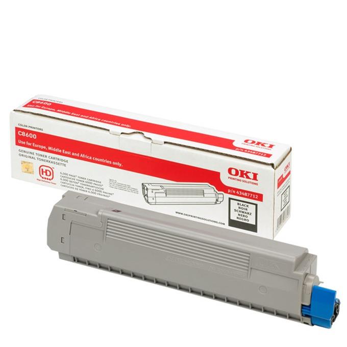 КАСЕТА ЗА OKI C 8600/8800 - Black - P№ 43487712 product