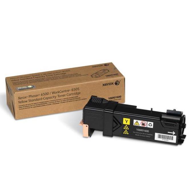 КАСЕТА ЗА XEROX Phaser 6500/WC 6505 - Yellow - P№ 106R01600 - заб.: 1000k image