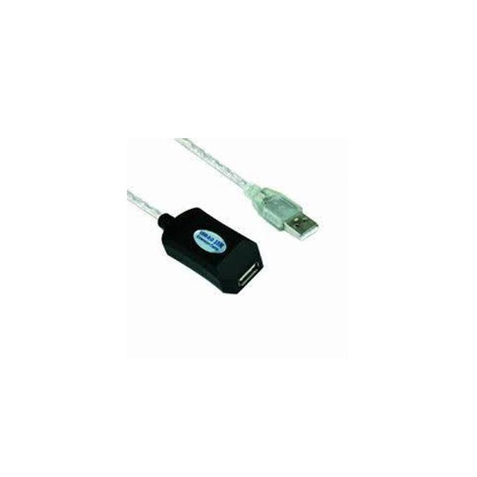 Кабел VCOM CU823-5m, USB A(м) към USB А(ж), 5m, бял image