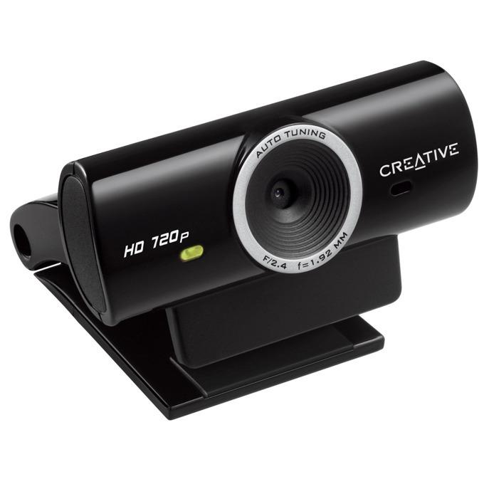 Уеб камера Creative Live! Cam Sync HD, микрофон, 720p, 30fps, USB, черна, Мострена бройка! image