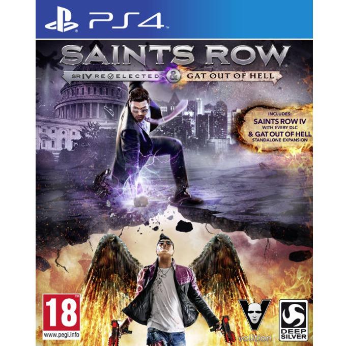 Игра за конзола Saints Row IV: Re-Elected + Saints Row: Gat Оut of Hell, за PS4 image