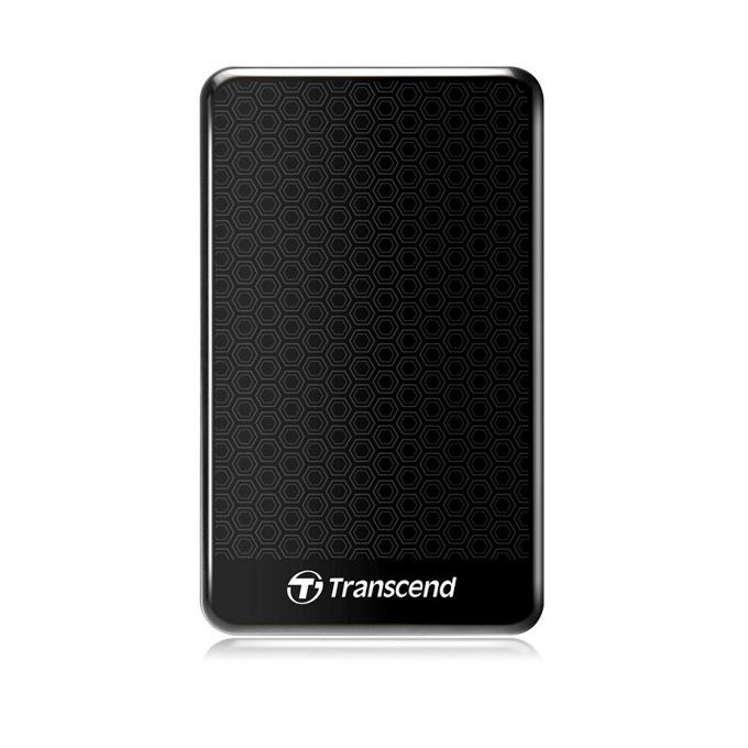 """Твърд диск 1TB Transcend StoreJet, черен, външен, 2.5"""" (6.35cm), USB 3.0, 3г.гаранция  image"""