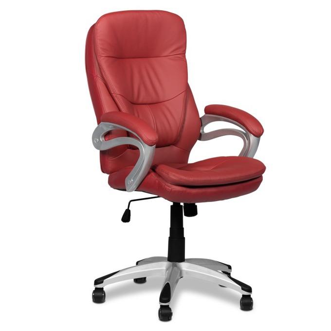 Директорски стол Carmen 6056, вишнево-червен image