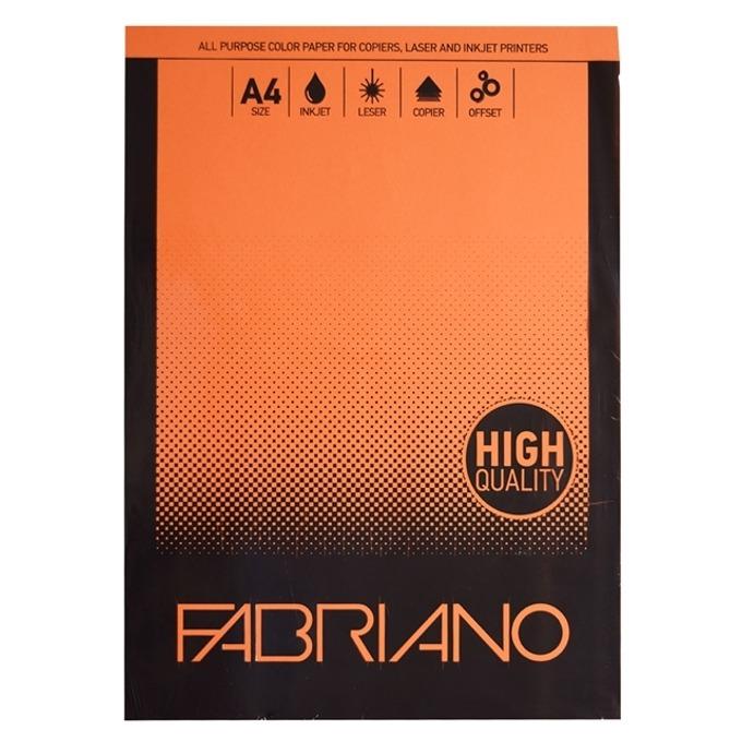 Fabriano A4, 160 g/m2, оранжев, 50 листа product