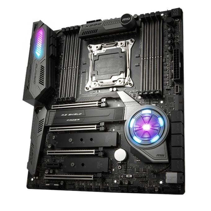 Дънна платка MSI X299 XPower Gaming AC, X299, LGA2066, DDR4, PCI-E(CF&SLi), 10x SATA 6Gb/s, 3x M.2, 1x U.2, 6x USB 3.1 Gen1 Type-A, E-ATX image