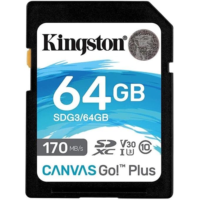 64G SD KINGST CANVAS GO+ product