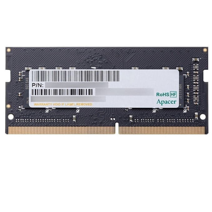 Памет 4GB DDR3 1600MHz, SO-DIMM, Apacer AS04GFA60CATBGC, 1.5V image