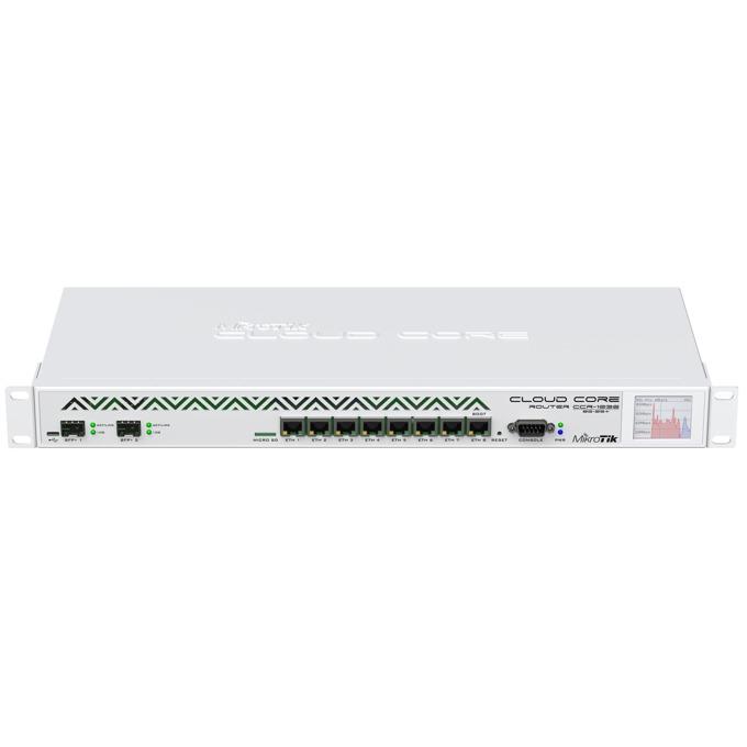 Рутер MikroTik CCR1036-8G-2S+, 8x LAN 100/1000, 2x SFP+, 4GB RAM image