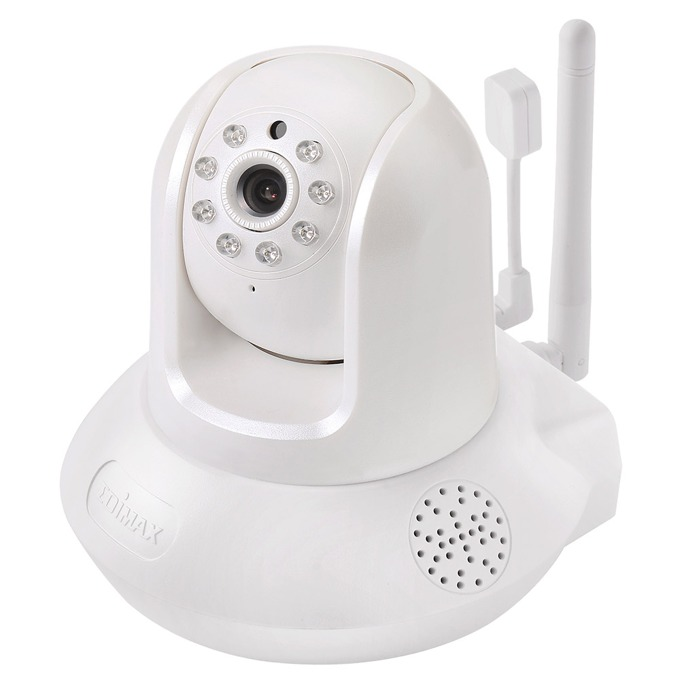 IP камера Edimax IC-7113W, Plug-n-View Smart HD Wi-Fi Pan/Tilt Network camera, IR осветление, wide F2.0 lens, H.264 & MJPEG, микрофон  image