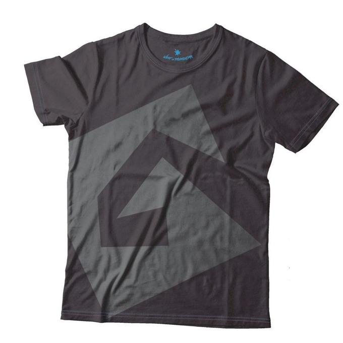 Тениска Gplay с лого, размер S, черна image