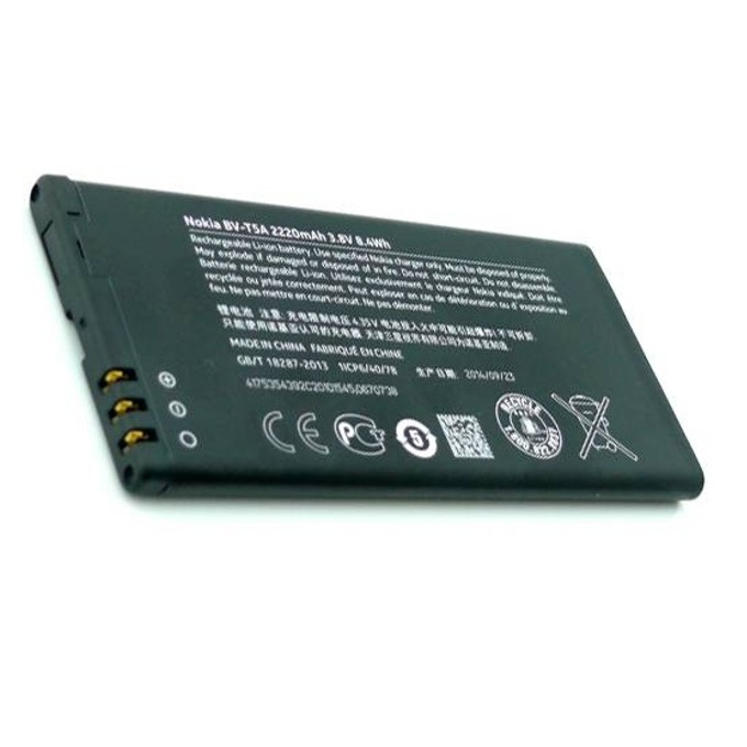 Батерия (оригинална) Nokia BV-T5A за Nokia Lumia 730/735, 2220mAh/3.8V, Bulk image