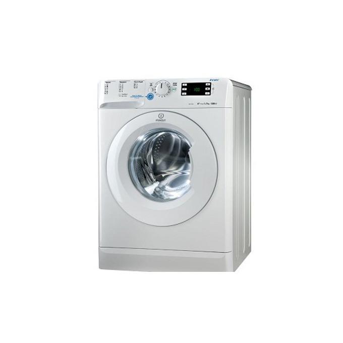 Перална машина Indesit EWE71252WEU, клас А++, 7 кг. капацитет, 1200 оборота в минута, 16 програми, свободностояща, 60 cm. ширина, бяла image