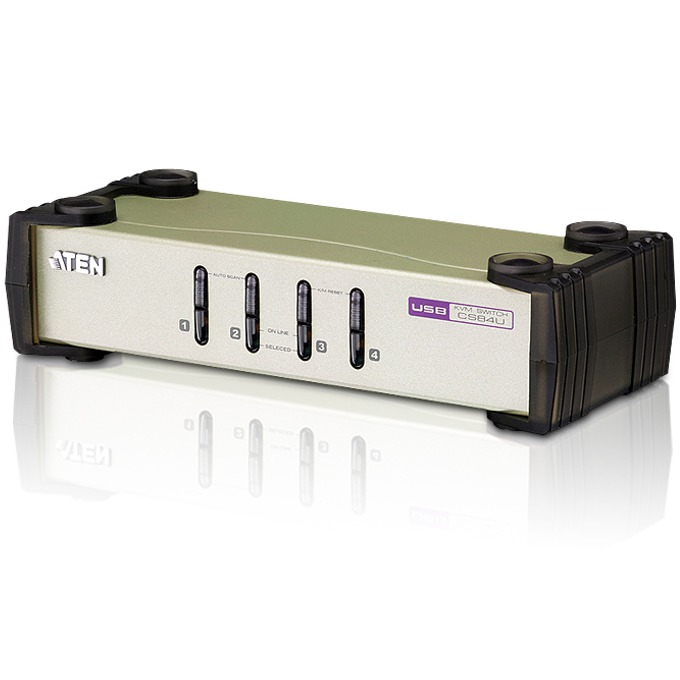 KVM Switch ATEN CS84U, PS/2-USB ,4x 1 image