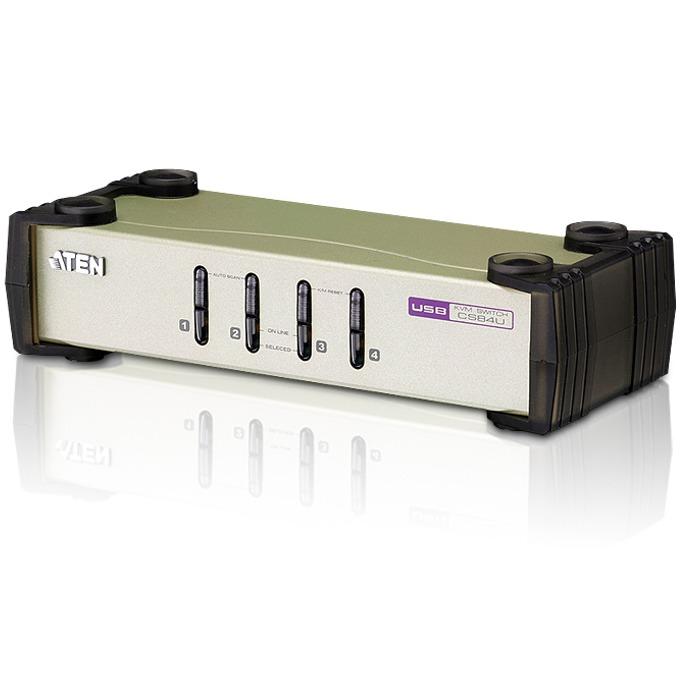 KVM Switch ATEN CS84U, PS/2-USB ,4x 1 image
