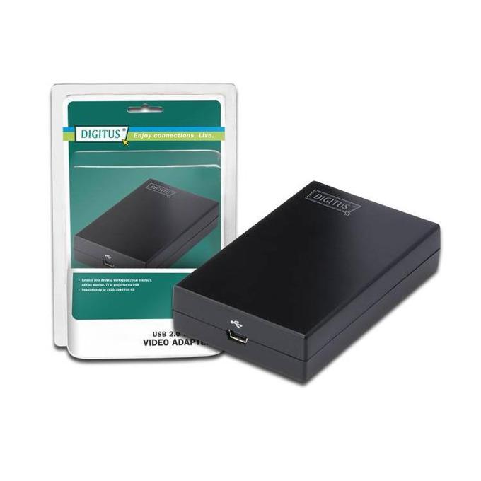 Конвертор ASSMANN DA-70851, 1x USB вход към 1x HDMI изход image