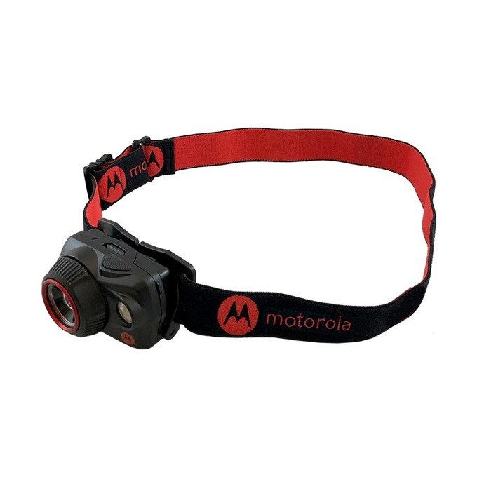Челник Motorola MHP580, 3х AAA батерии, 580 lumens, водоустойчив, черен image