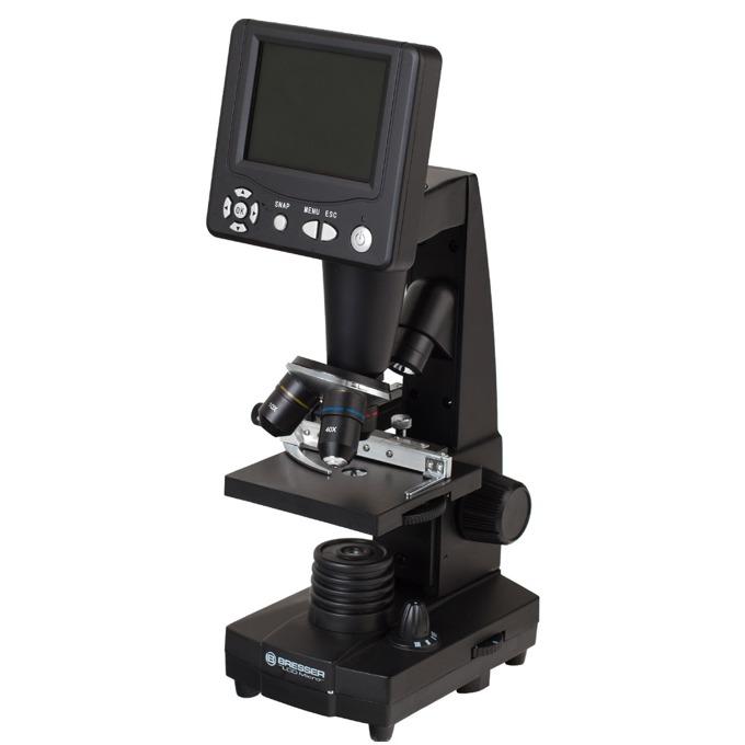 Микроскоп Bresser LCD, 50–2000x оптично увеличение image