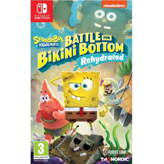 Игра за конзола Spongebob SquarePants: Battle for Bikini Bottom - Rehydrated, за Nintendo Switch image